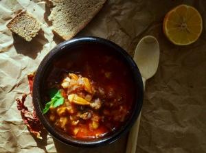 Bamya Çorbası