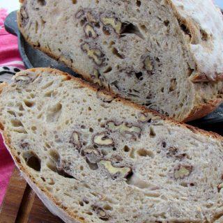 Cevizli Ekmek (Ekşi Mayalı)