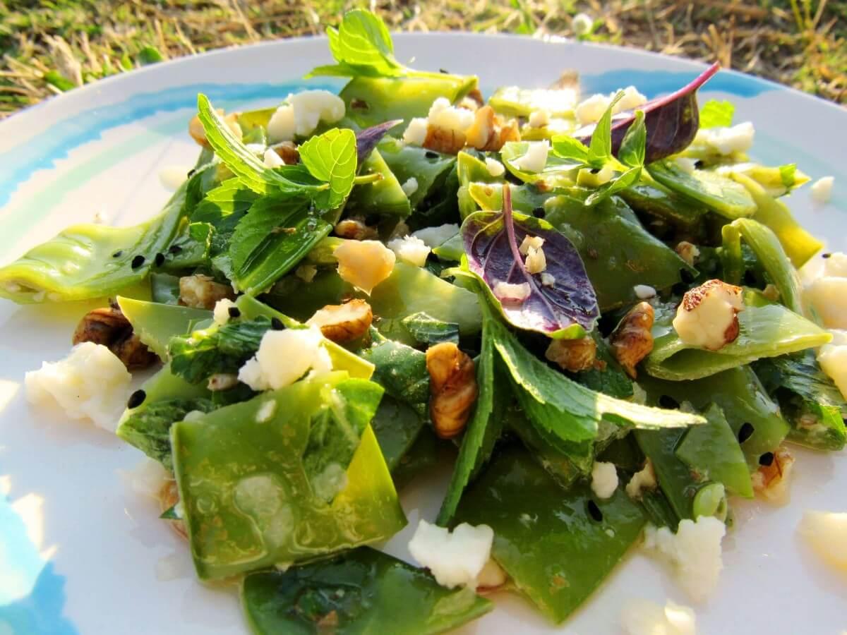 Bezelye Salatası